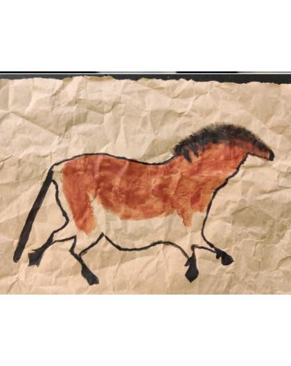 Stage 6-8 ans : Petits artistes de la préhistoire