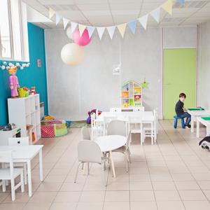 salle pour enfants